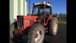 renovation tracteur ih 1056 xl