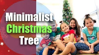 Minimalist Christmas Tree 2018 / Decorating On A Budget / Decorate With Me