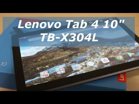 Планшет Lenovo Tab 4 10 (TB-X304l) – обзор