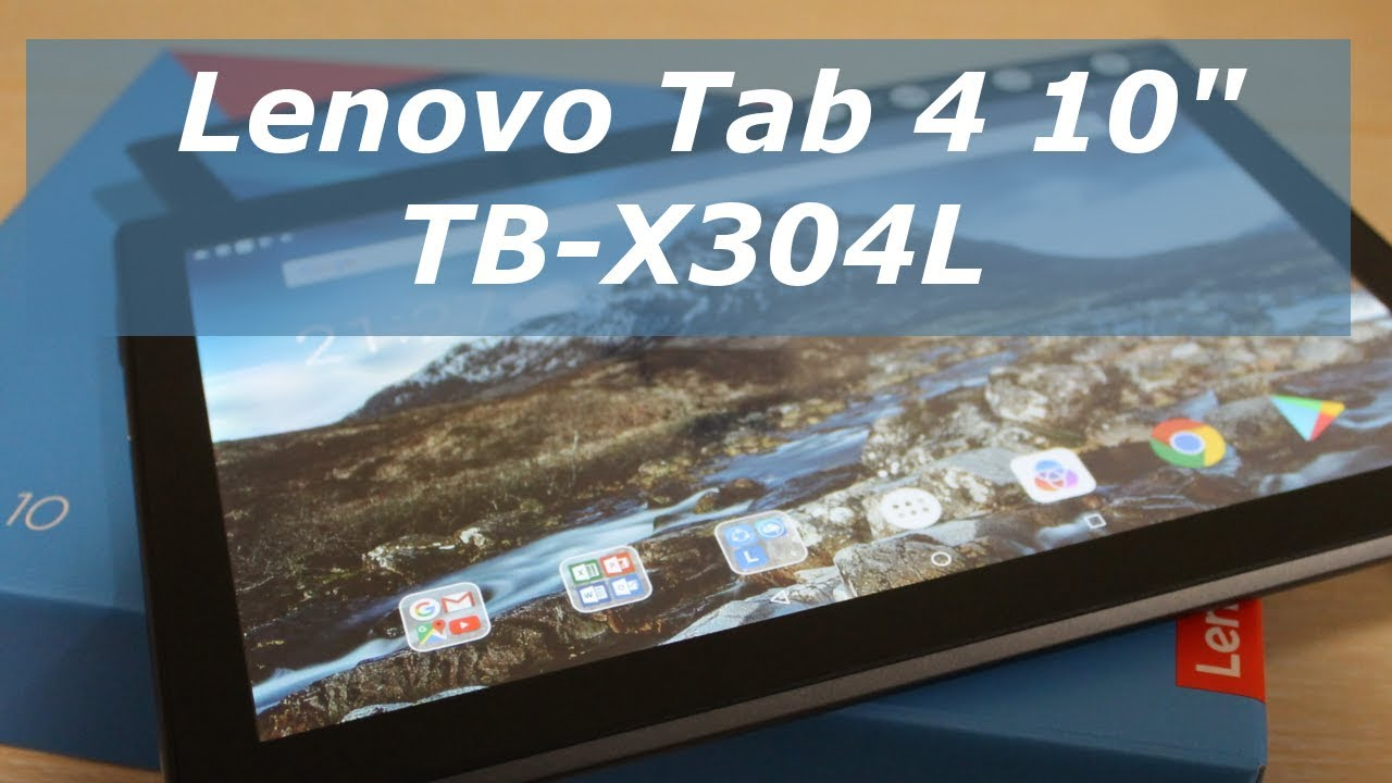 РАСПАКОВКА И ОБЗОР планшет Lenovo Tab 4 TB-X304L 10.1