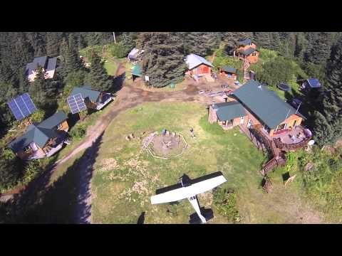 Silver Salmon Creek Lodge - Aerial Drone Video