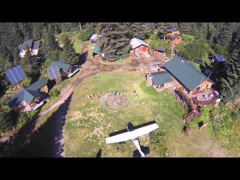 Silver Salmon Creek Lodge - Aerial Drone Video