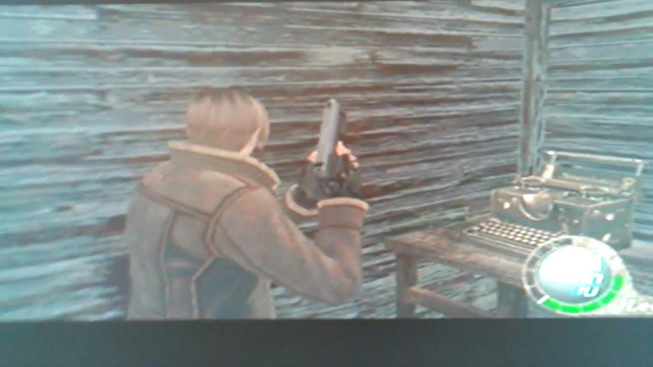 Resident Evil 4 Leon Kennedy S Secret Hair Style Youtube