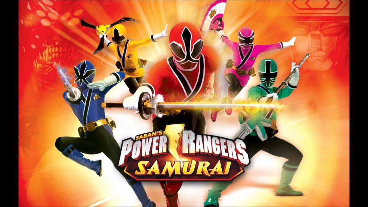 Power Rangers Samurai Go Go Power Rangers Clean And Extended Hd Youtube