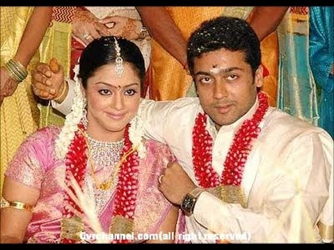 Tamil Actor Suriya Amp Jothika Official Marriage Video