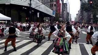 Pulaski Day Parade~NYC~2013~Traditional Polish Dancers~NYCParadelife