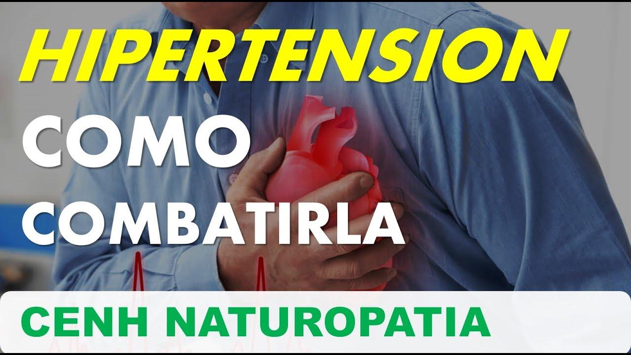 HIPERTENSIÓN COMO COMBATIRLA - COMPÁRTELO / CENH NATUROPATIA