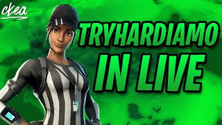 IF I WIN the IKONIK FOR FREE!! LIVE FORTNITE ITA