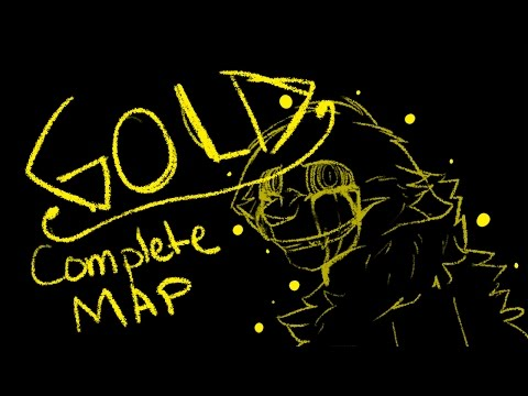 .:Gold:. OC SKETCH MAP _-COMPLETE-_