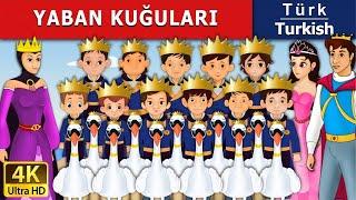 Yaban kuğuları - Masal - çoçuk masalları dinle - 4K UHD - Türkçe peri masalları