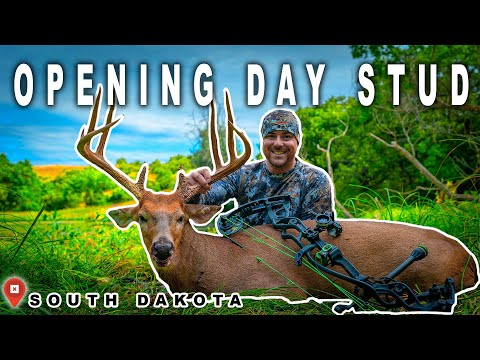 Opening Day Bow Buck | South Dakota Deer Hunt