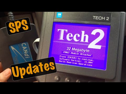 GM SPS Programming: Tech2 Tool Pass Thru Mode ECU TIS2Web TDS Calibration Update