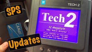 GM SPS Programming: Tech2 Tool Pass Thru Mode ECU TIS2Web TDS Calibration Update