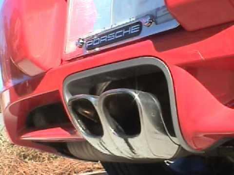 speedART Sport exhaust for Porsche Cayman