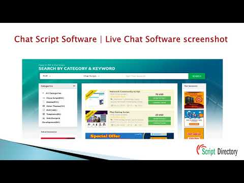 Chat Script Software | Php Chat Script | Live Chat Php Script From PHP Script Directory