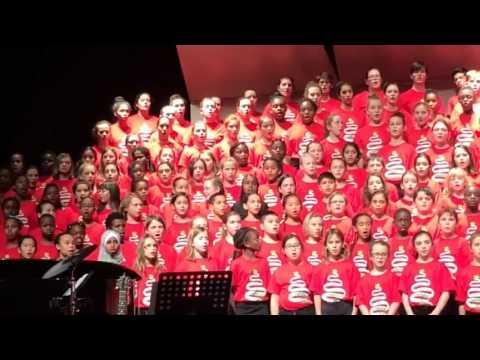 Canadian children's choir sings oldest Islamic song Tala al-Badru Alayna