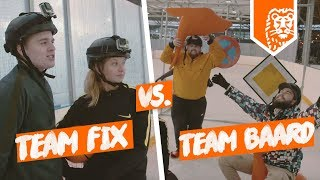 IJSVOETBAL ESTAFETTE CHALLENGE – TEAM BAARD vs TEAM FIX met FIFALOSOPHY FCROELIE BASSISTENT & MASCHA