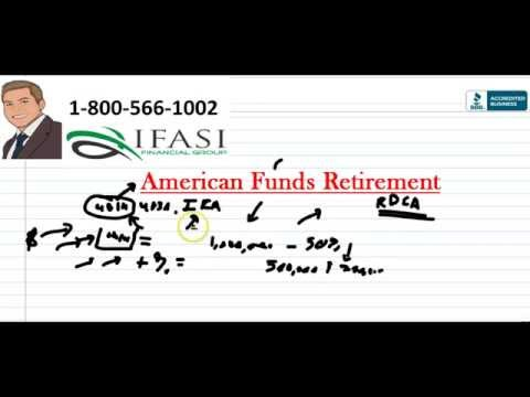 American Funds Retirement - Best American Funds Retirement Planning Review