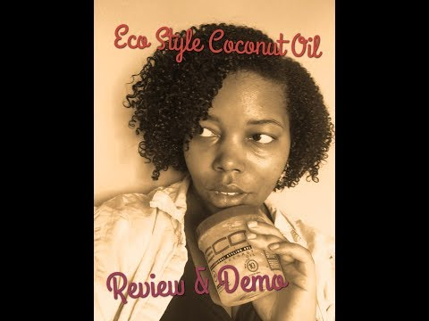 Eco Style Coconut Oil   Review & Demo