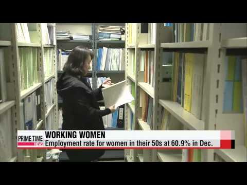 Women in their 40s, 50s returning to workforce in increasing numbers   40, 50대 중