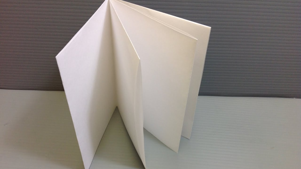 Simple Origami Notebook Us Lettera4 Youtube