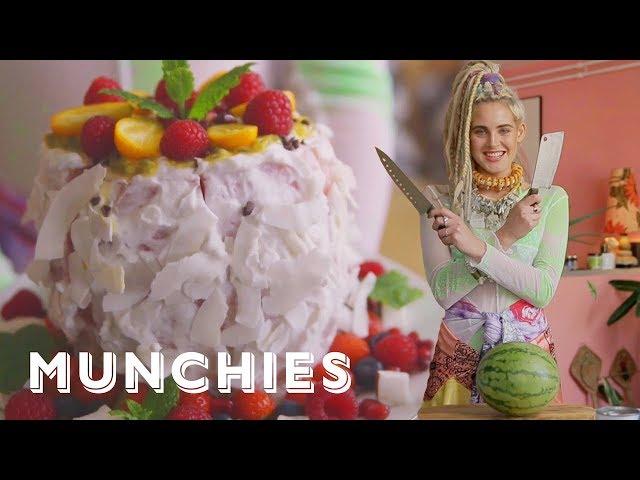 How-To Make A Vegan Watermelon Cake with Cata.Pirata