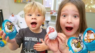 DISNEY CHOCOLATE EGG SURPRISE! Finding Dory and Toy Story Surprises!
