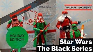 Star Wars Black Series Snowtrooper Holiday Edition Walmart Exclusive