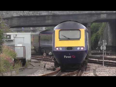 Trains at Plymouth 30/6/17