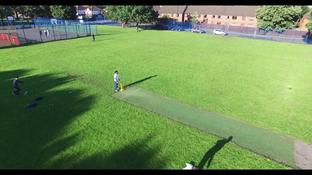 Cricket Match Bignor Street Park Manchester