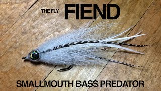 Smallmouth Bass Predator X Fly Tying Tutorial | The Fly Fiend