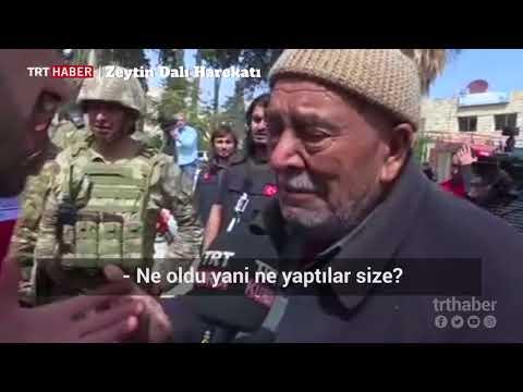 Afrin'de bir vatandaş terör örgütünün zulmünü gözyaşları içinde anlattı