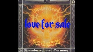 Motörhead - Love For Sale (Live in Hamburg 1998)