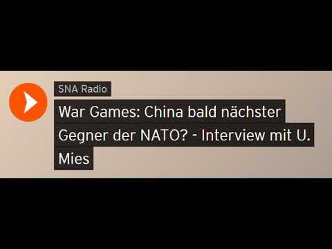 War Games: China bald nächster Gegner der NATO? - Interview mit U. Mies (Sputniknews)