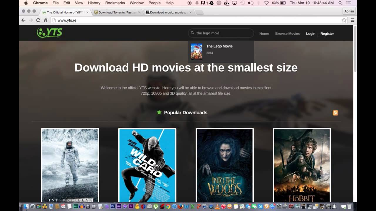 How to Download Movies for FREE on your Laptop or Desktop ...
