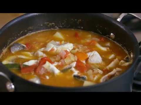 How To Make A Greek Fish Stew With Jamie Oliver's Tefal Hard Anodised Cookware