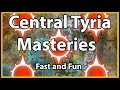 Guild Wars 2 - Central Tyria Masteries (Fast and Fun)
