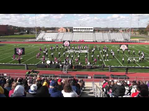Columbus East High School Marching Band at Finals 2010