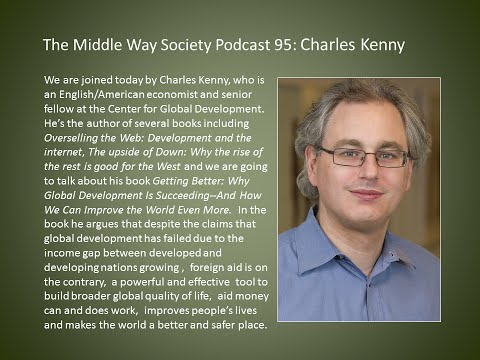 Charles Kenny on why global development is succeeding