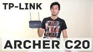 TP-LINK Archer C20: огляд маршрутизатора