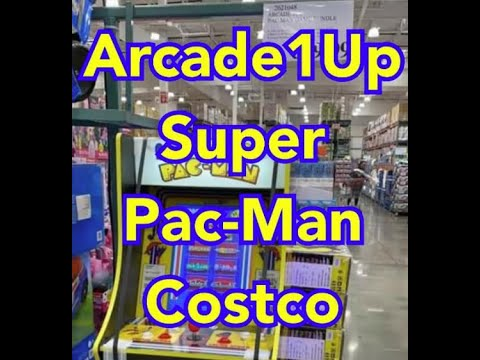Confirmed New Arcade1Up Super Pac-Man Costco Pics Prices In Store Arcade 1up from rarecoolitems
