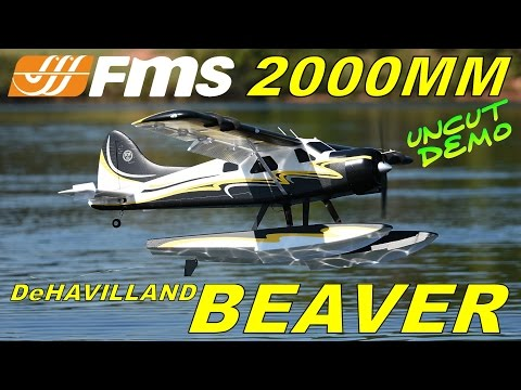 FMS 2000mm DeHAVILLAND BEAVER E-WEEK UNCUT DEMO