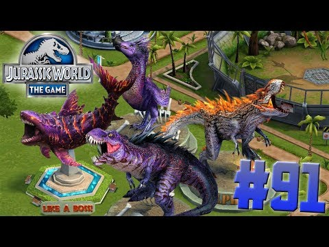Trophy Collection Like A Boss!!!-Jurassic World:The Game Ep. #91