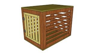 Dog Crate Plans