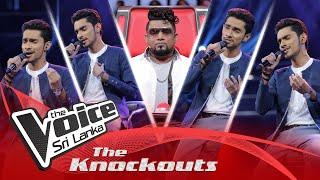 Tharuja Ranasinghe | Obe Sina Langa (ඔබේ සිනා ළඟ) | The Knockouts | The Voice Sri Lanka Thumbnail