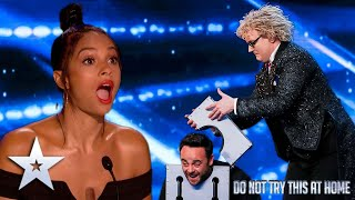 The hilariously magical Niels Harder! | Unforgettable Audition | Britain's Got Talent