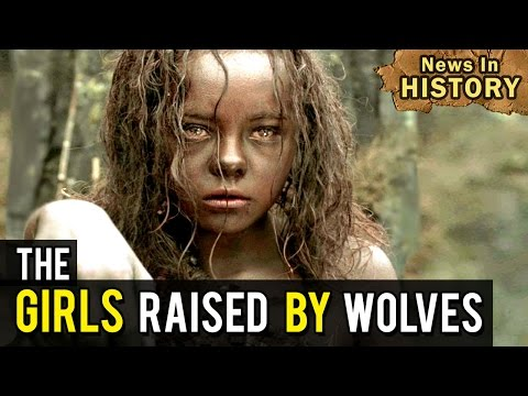 The Girls Raised by Wolves - News In History