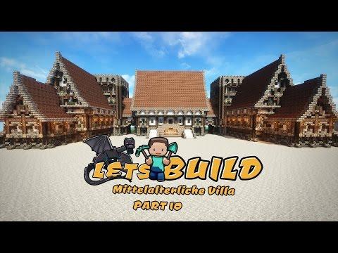 Mittelalterliche Villa Bauen   Minecraft Tutorial   Part 10