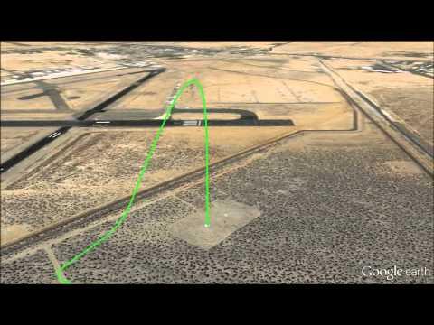 Moon Landing Technology Flight Test -- Astrobotic and Masten Flight Video