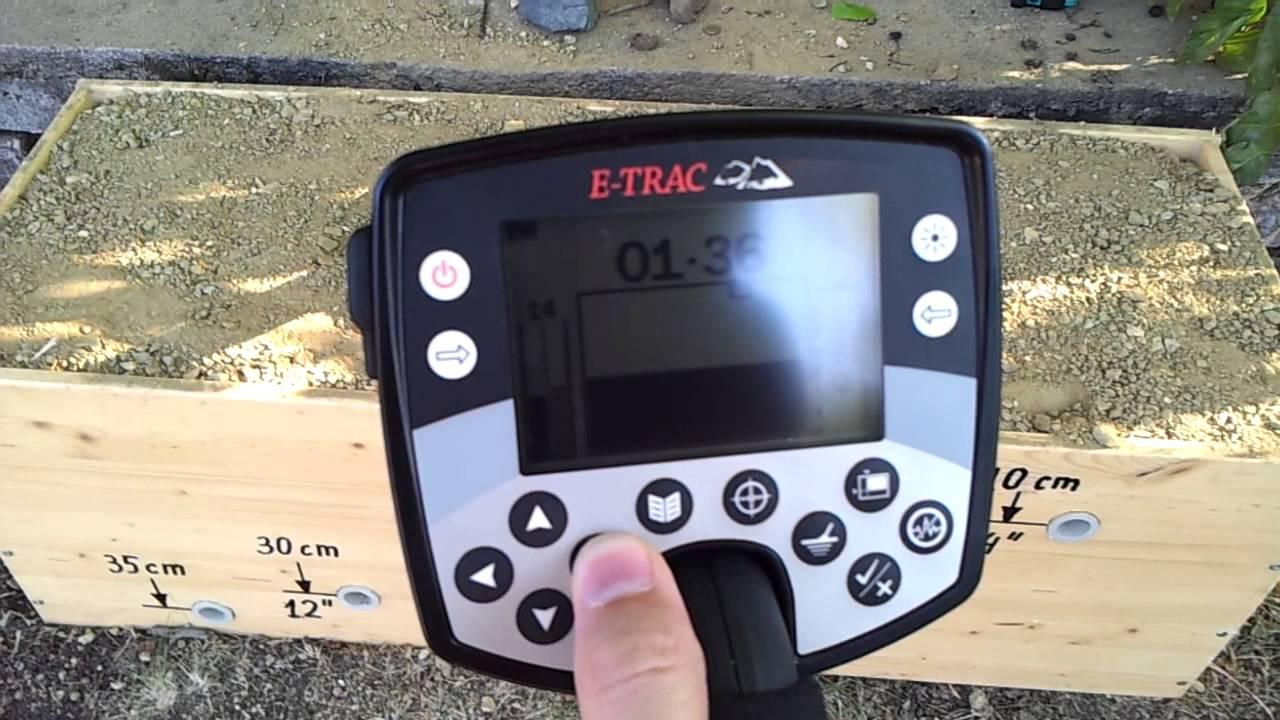 Minelab e trac инструкция скачать